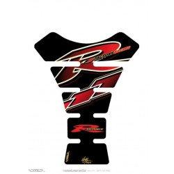 Protection de réservoir MOTOGRAFIX 1pc noir/rouge Yamaha