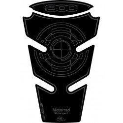 Protection de réservoir MOTOGRAFIX 2pcs noir BMW F800R