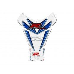 Protection de réservoir MOTOGRAFIX 1pc blanc/rouge/bleu Suzuki GSXR