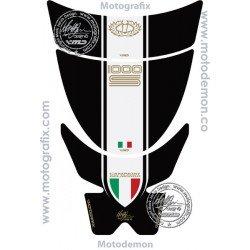 Protection de réservoir MOTOGRAFIX 2pcs noir Ducati Sport Classic