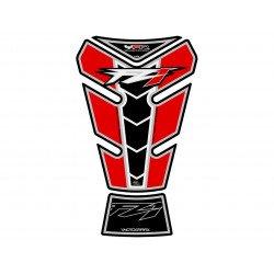 Protection de réservoir MOTOGRAFIX 2pcs Claret/rouge Yamaha FZ1