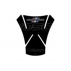 Protection de réservoir MOTOGRAFIX 1pcs noir Triumph Speed Triple 1050/1050 R
