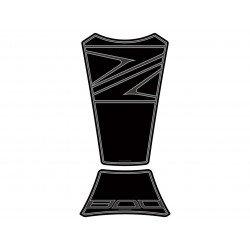Protection de réservoir MOTOGRAFIX 2pcs noir Kawasaki Z800/800E
