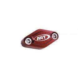 Couvercle étrier frein arrière ART quad rouge
