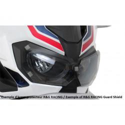 Ecran de protection feu avant R&G RACING translucide Yamaha R3
