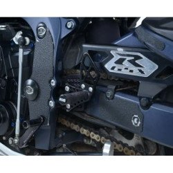Adhésif anti-frottement R&G RACING cadre/bras oscillant noir 5 pièces Suzuki GSX-R600/750