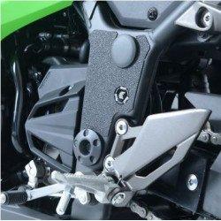 Adhésif anti-frottement R&G RACING cadre noir 3 pièces Kawasaki