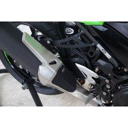Adhésif anti-frottement R&G RACING noir 2 pièces Kawasaki Ninja 400
