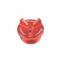 Bouchon carter d'huile LIGHTECH M30 x 1,5 (3 trous) rouge Kawasaki Z800