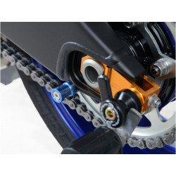 Pions de bras oscillant R&G RACING M10 bleu