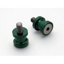 Pions de bras oscillant R&G RACING M10 aluminium vert