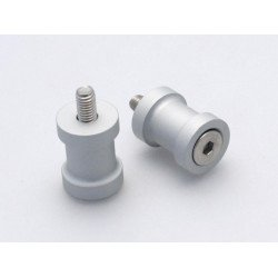 Pions de bras oscillant R&G RACING M10 aluminium argent