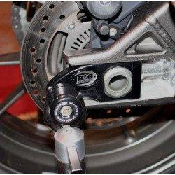 Pions de bras oscillant R&G RACING avec platine noir BMW S1000R/RR