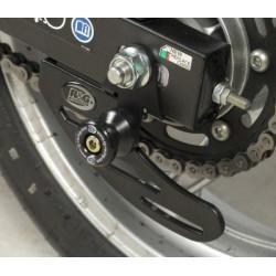 Pions de bras oscillant R&G RACING avec platine noir Honda CBR250R