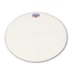 Plaque numéro frontale UFO Oval blanc