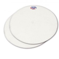 Plaques latérales UFO Oval blanc