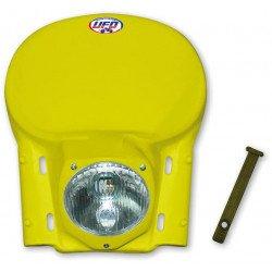Plaque phare universelle UFO vintage jaune 1978-1990