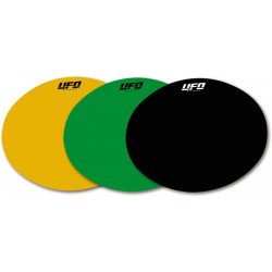 Planche adhésive ovale UFO vert