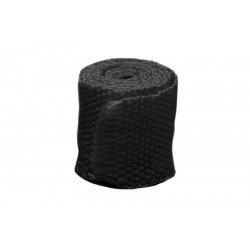 Bande thermique collecteur ACOUSTA-FIL 50mm x 7,5m 650°C noir