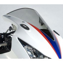 Caches orifice rétroviseur R&G RACING noir Honda CBR1000RR