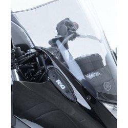 Cache-orifice rétroviseur R&G RACING noir Yamaha YZF-R3