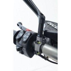 Réhausses de rétroviseur R&G RACING M8x1,25x11,5mm +45mm noir