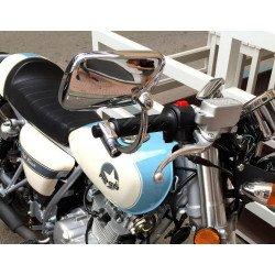 Rétroviseur gauche/droite V PARTS type origine chrome Ducati Biposto 1000