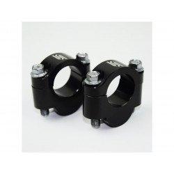 Rehausse guidon SCAR +20mm guidon Ø28,6mm noir
