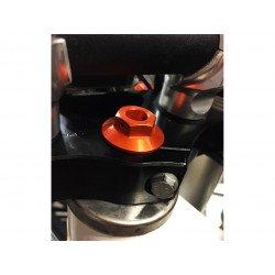 Ecrou de colonne de direction SCAR orange KTM SX 125 et +