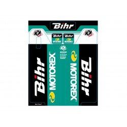 Kit de déco de fourche Bihr/Motorex KUTVEK SUZUKI RM 125-250