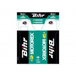 Kit de déco de fourche Bihr/Motorex KUTVEK KTM SX-EXC