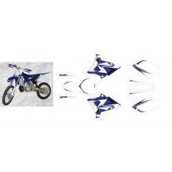 Kit déco UFO replica 4T Bleu Yamaha YZ125/250