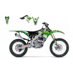 Kit déco BLACKBIRD Dream Graphic 3 Kawasaki KX500