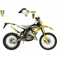 Kit déco BLACKBIRD Dream Graphic 3 jaune Gas Gas EC125
