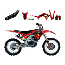 Kit complet BLACKBIRD Rockstar Energy Honda CR125/250R