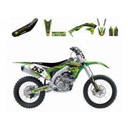 Kit complet BLACKBIRD Rockstar Energy Kawasaki KX250F
