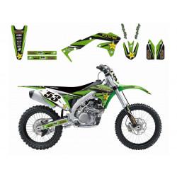 Kit déco BLACKBIRD Rockstar Energy Kawasaki KX250F