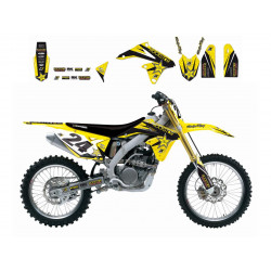 Kit déco BLACKBIRD Rockstar Energy Suzuki RM-Z250