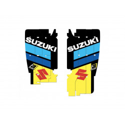 Kit déco de cache radiateur BLACKBIRD Replica Racing Team 2019 Suzuki RM-Z450