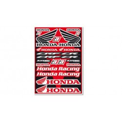 Planche de stickers BLACKBIRD Honda