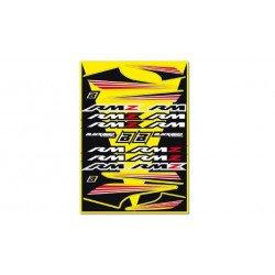 Planche de stickers BLACKBIRD Suzuki