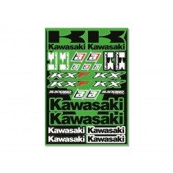 Planche de stickers BLACKBIRD Kawasaki