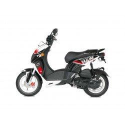 Kit deco KUTVEK Yasuni Factory rouge/blanc Peugeot Ludix 50