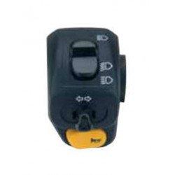 Commodo électrique DOMINO gauche noir Piaggio Vespa LXV
