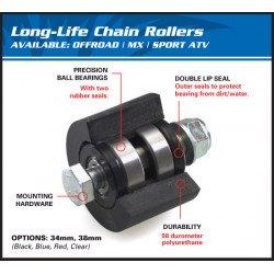 Roulette de chaine supérieure ALL BALLS noir Honda CRF125F/250F/230F