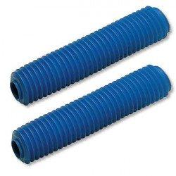 Soufflets de fourche CEMOTO bleu Ø42mm - 450mm