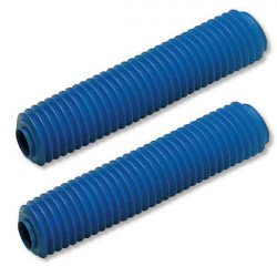 Soufflets de fourche CEMOTO bleu Ø45/50mm - 460mm