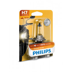 Ampoule PHILIPS H7 Vision Moto 12V/55W culot PS26d Blister 10pc