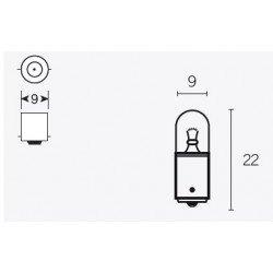 Ampoule V PARTS T85 12V/4W culot BA9s 10pcs