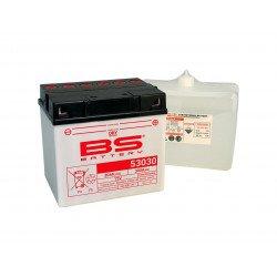 Batterie BS BATTERY 53030 haute performance livrée avec pack acide